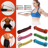Bande di resistenza Pull Up Assist Bands Idoneità Stretching Strength Training Bande di Pilates in lattice naturale