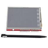 OPEN-SMART 2,8 tommer TFT RM68090 Touch LCD-skærm Skærm om bord temperaturføler + berøringspen til UNO R3/Mega2560 / Leonardo OPEN-SMART til Arduino - produkter, der fungerer med officielle Arduino-kort