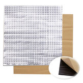 3pcs 300x300x10mm Foil Self-adhesive Heat Insulation Cotton For 3D Printer Heated Bed
