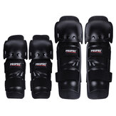 ROPRO 4PCS/Set Outdoor Elbow&Knee Pads Protector PE+EVA Adult Free Size For Motorcycle Skating Cycling Ride Protection