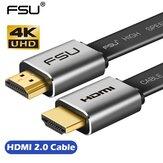 FSU HDMI Cabo 4K * 2K Macho para Macho 3D 1080P Cabo Adaptador HD para Monitor Computador TV PS3/4 Projetor