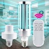ARILUX 60W AC110V-220V UV Sterilizer Lamp E27 LED UVC Bulb Remote Control Disinfection Light Sterilizer Ozone Kill Bacteria Mites