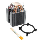 Dissipador de calor Ultra-quieto do refrigerador do fã do processador central da pilha de calor da CC12V 6 para Lag1156 / 1155/1150/775