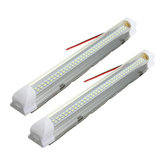 Interior Universal 34 cm LED Light Strip Lâmpada Branco 2 Pcs com ON / OFF Interruptor para Car Auto Caravan Bus