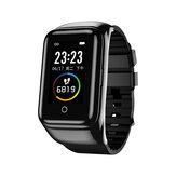 LEMFO M7 BT5.0 TWS Draadloze koptelefoon Polsband Bluetooth-oproep 1,14 inch bloeddrukmeter Fitness Tracker Smart Watch