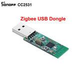 Sonoff® ZB CC2531 USB Dongle Module Bare Board Pakket Protocol Analyzer USB Interface Dongle Ondersteunt BASICZBR3 S31 Lite zb