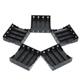 5PCS High Strength Batterie Support en plastique pour batteries 4x3.7V 18650 Li-ion