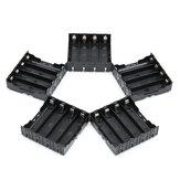 5PCS Yüksek Mukavemetli Batarya Plastik Kılıf 4x3.7V 18650 Li-ion piller için tutucu