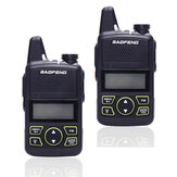 2 PZ UE BAOFENG BF-T1 Frequenza 400-470MHz 20 Canali Mini Ultra Sottile Guida Hotel civile Walkie Talkie
