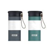 280 ml-es dupla falú rozsdamentes acél vákuumlombik autó vízcsésze kávé tea utazó bögre üveg