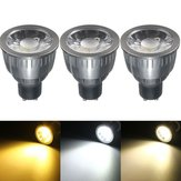 GU10 5W LED COB Black Aluminum Pure White Warm White Natural White Spot Lightt Bulb AC85-265V