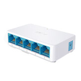 SNELLE 5-poorts Gigabit Ethernet-switch Onbeheerde switch Ethernet-splitter Verkeersoptimalisatie Desktop Mini Ethernet-hub Plug and Play