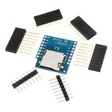 5Pcs Micro SD Card Shield For D1 Mini TF WiFi ESP8266 Compatible SD Wireless Module LILYGO for Arduino - products that work with official Arduino boards