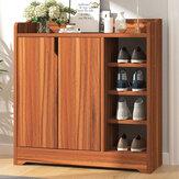 Meerlagige verdikte houten plank stofdichte schoenenkast schoenorganisator plankstandaard voor woonkamer
