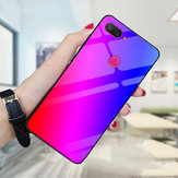 Bakeey Gradient Color Tempered Glass Shockproof Protective Case For Xiaomi Mi 8 Lite Non-original