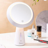 MIUO T03 Cosmetic Mirror Table Lamps High-definition Make-up Mirror Stepless Dimming USB Charging 90° Turnover Bedside Table Night Light from