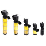 3 In 1 Multi-funtional Water Fish Tank Adjustable Aquarium Filter Pump Submersible Pump
