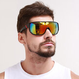 Mens Protection Black Frame Shades Óculos de sol