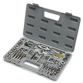 Metric Tap And Die Metric Tapping Threading Chasing Tap and Die Set with Storage Caso