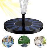 1,7 W-os szökőkút-szivattyú úszó szolármadár-fürdővízszivattyú-szökőkút készlet kerti tó uszodához