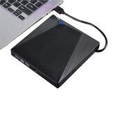 Type-C USB 3.0 Graveur de DVD externe Graveur Enregistreur Lecteur DVD RW Lecteur optique CD / DVD ROM pour ordinateur portable Windows XP / 7/8/10 Ordinateur