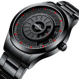 CRRJU 2141 Creative Stainless Steel  Casual Style Men Watch