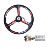300W 26Inch E-Bike Rear Wheel with Motor Controller 25KM/H 36V Bike Accessories Kit