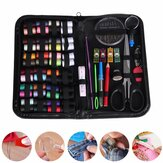 172Pcs/Set Sewing Coils Kit Threads Craft Hand Quilting Stitching Portable Bag