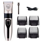 Electric Hair Clipper Comb Set Hair Trimmer Blade Cat Dog Horse Pet Grooming Cordless