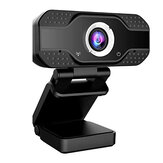 Webcam Auto Focusing Web USB 2.0 Camera Cam w/ Microphone For PC Laptop Desktop