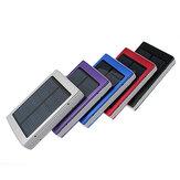 لوحة للطاقة الشمسية المحمولة المزدوجة USB خارجي موبايل البطارية القوة حزمة المصرفية شاحن لفون HTC
