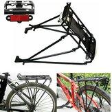自転車貨物ラックアルミ合金リアバックシートバイクマウントキャリア荷物保護パニア最大負荷25kg