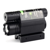532nm 5mW Red Dot Infrared Laser Launcher met zaklamp geïntegreerde 800M