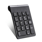 MLD-268 Wireless Numeric Keypad 2.4G 18 Keys Mini Digital Number Pad Portable Silent Financial Accounting Keyboard