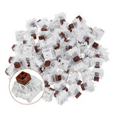 70PCS Pack Kailh BOX Brown Switch Commutateur à clavier tactile pour la personnalisation du clavier