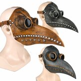 Halloween Cosplay Steampunk Plague Doctor Mask Bird Beak Props Retr Gothic Masks
