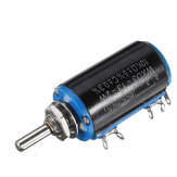 5 stks WXD3-13-2W Precisie Potentiometer 10KΩ 10K Ohm Draadgewonden Multi-Turn Potentiometer