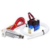 0.4mm J-head Hotend Extruder Remote Kit Support 1.75mm PLA/ABS Filament met koelventilator + ventilatorinzet
