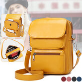 Fashion Casual Large Capacity with Multi-Pocket Mobile Phone Tablet Storage Crossbody Shoulder Bag Backpack