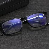 ユニセックスアンチブルーライトフルフレームカジュアルビジネスHD老眼鏡老眼眼鏡