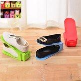 7 Colors Space-Saving Shoe Display Racks