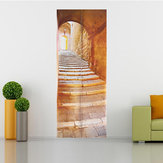 3D Stone Stair Art Door Wall Sticker Decal Sticker murale Home Office Decor