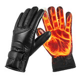 USB Recharge Heating Gloves Winter Warmer Touch Screen Outdoor Skiing Cycling