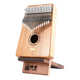 Lingting Portable Stojak na Kalimbę Kciuk Stojak na pianino Kalimba 17 Key Kalimba