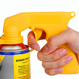 Spray Adapter Paint Care Aerosol Spray Gun Handle med fuld Grip Trigger Locking Collar Tools Kit