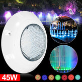 AC12V 45W RGB LED Swimming Pool Light Underwater Wall Mounted Lamp with Remote Control