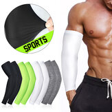 1 Paar Outdoor Sport Running UV Zonwering Been Cover Basketbal Arm Mouwen Fietsen Arm Warmers Manchet Mouw Cover