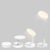 BlitzWolf® BW-DLT1 Klappbare Schreibtischlampe mit faltbarem Speicher Einstellbarer Winkel 3600mAh Batterie 5 Helligkeitsstufen 3000-5000K Farbtemperatur