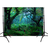 5x3FT Nature Jungle Forest Tree Fotografia Tło Studio rekwizyty