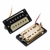 2 piezas de doble bobina Humbucker pickup de guitarra para Zebra / Ibana guitarra eléctrica